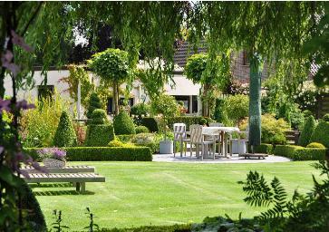 Jardins romantiques en belgique for Mooie tuinen voorbeelden